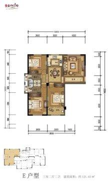 金河1号户型图