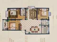 郓城南湖花园出售三室两厅洋房